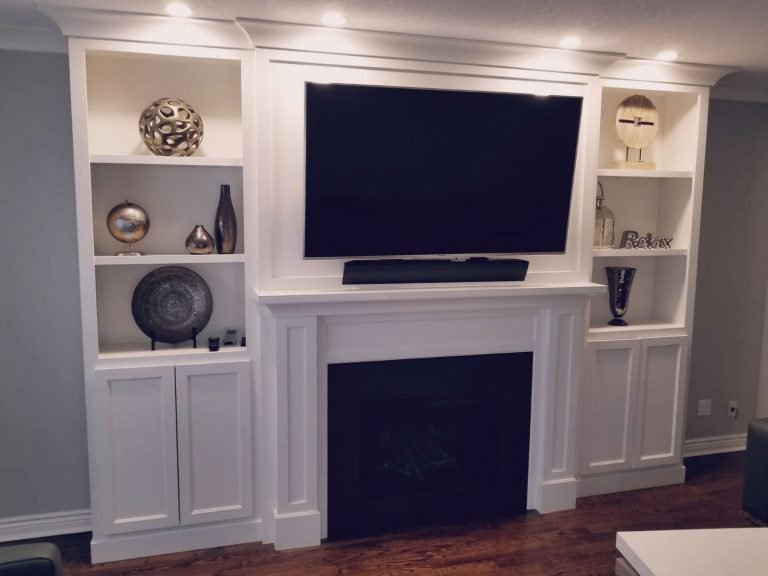 Media Walls and Custom Millwork